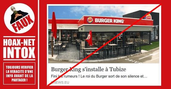 Non, Super Burger ne s'installe pas à Tubize (Belgique)