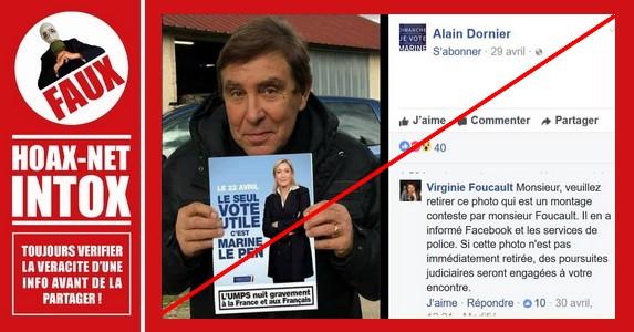 NON, Jean-Pierre Foucault n'appelle pas à voter Marine Le Pen