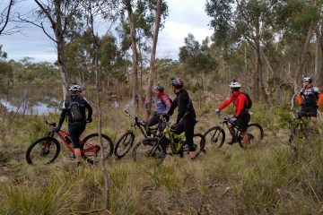 Bike rides in Tasmania's wilds