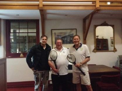 WINNER Peter Burnett and Runner Up David Mitchell