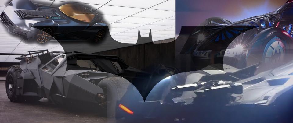 80 anni di Batman: tutte le batmobile dell'uomo pipistrello