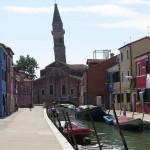 Det skjeve tårn på Burano