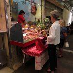Et lite innendørsmarked