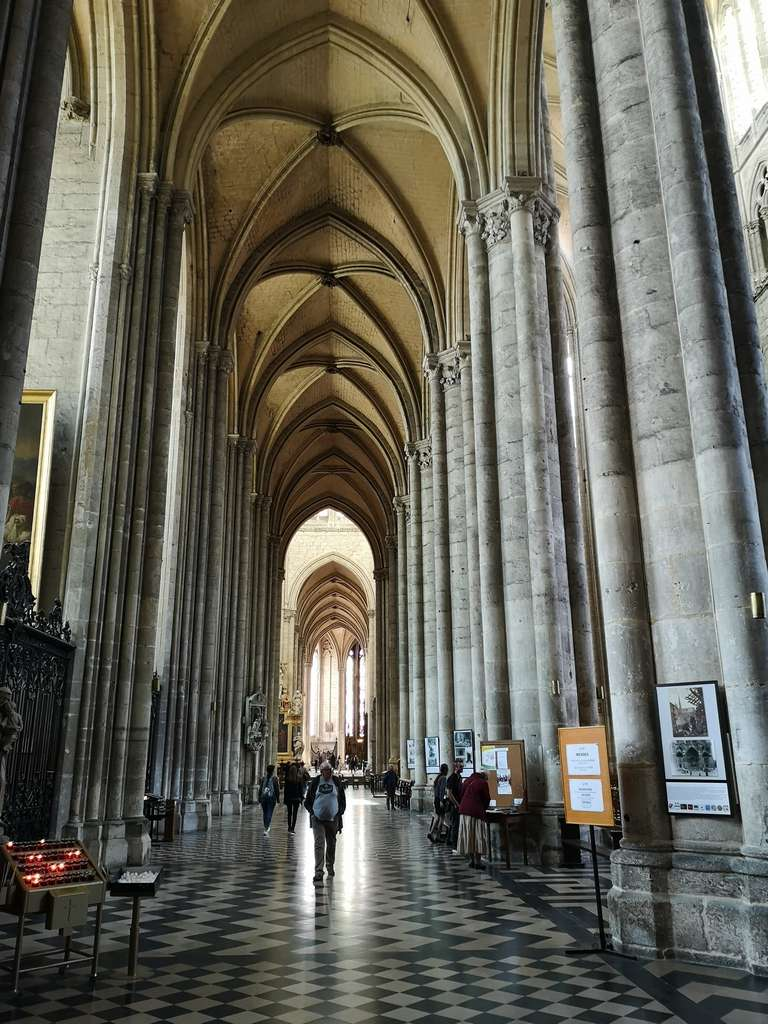 Katedral og champagne