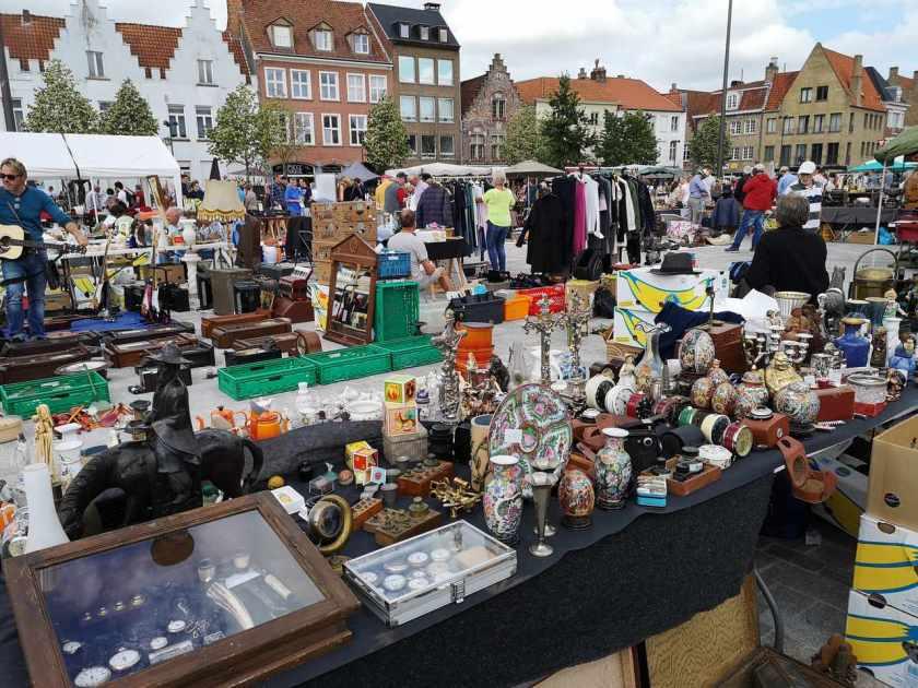Antikkmarked Brugge
