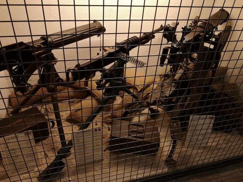 Bunkermuseum Somme - Albert MG