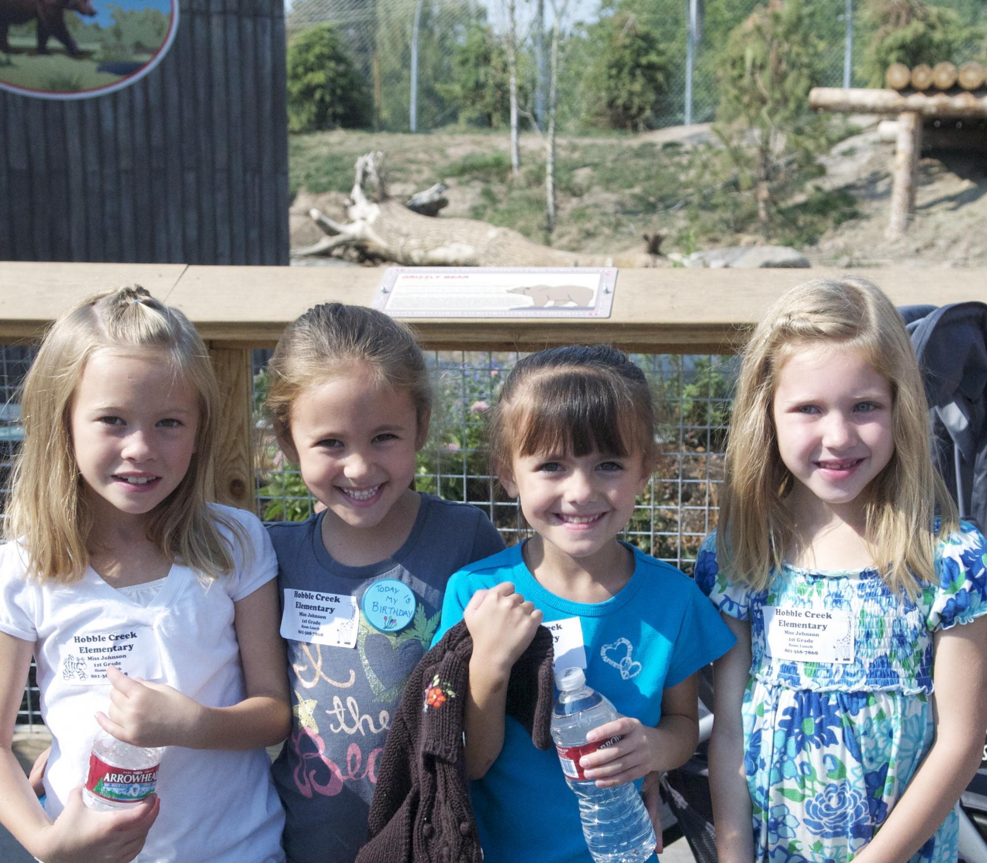 Sept 1st Grade Zoo Trip Bears