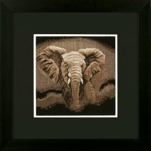 Lanarte Borduurpakket - Jagende olifant