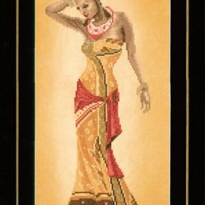 Lanarte Borduurpakket - Afrikaanse mode 2