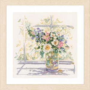 Lanarte Borduurpakket - Bloemen in zonlicht