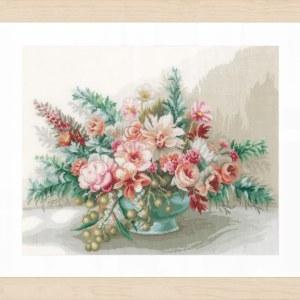 Lanarte Borduurpakket - Bloemenboeket