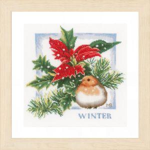 Lanarte Borduurpakket - Winter