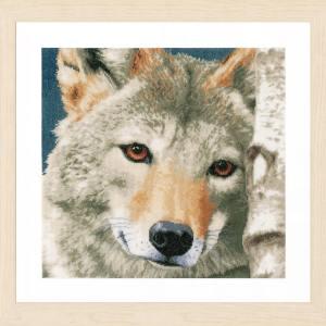 Lanarte Borduurpakket - Wolf