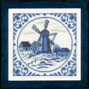 Lanarte Borduurpakket - Delftse windmolen