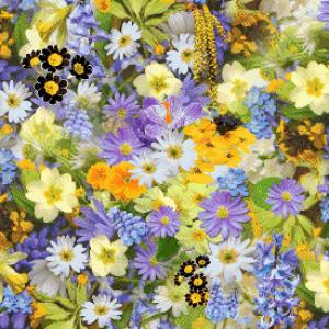MyHobby borduurpakket - bloemenveld