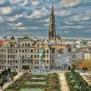 MyHobby borduurpakket - Brussel België