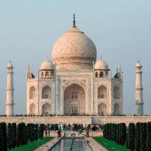 MyHobby borduurpakket - Taj Mahal in India