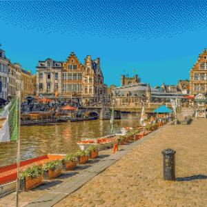 MyHobby borduurpakket - Gent België