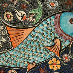 MyHobby borduurpakket - blauwe vis