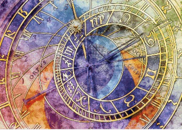 MyHobby borduurpakket - astrologische klok