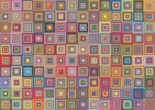 MyHobby borduurpakket - abstracte fantasie
