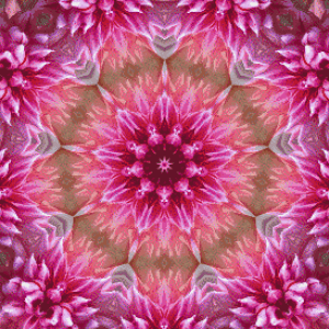 MyHobby borduurpakket - bloem mandala