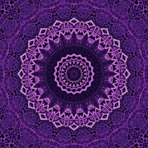 MyHobby borduurpakket - paarse mandala