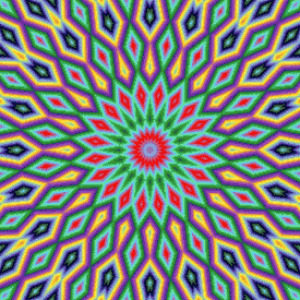 MyHobby borduurpakket - illusie mandala