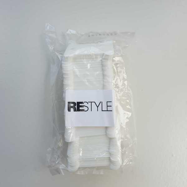 Wikkelkaartjes Restyle 100 stuks plastic 1