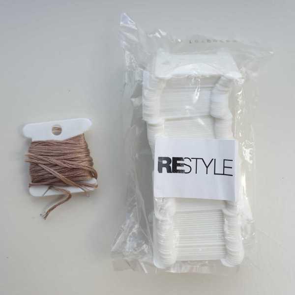 Wikkelkaartjes Restyle 100 stuks plastic 2