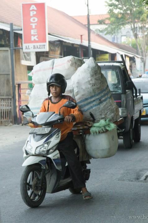 А това е обикновено скутерче Honda - Кута, Бали