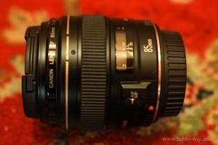 Canon 85 mm F1.8