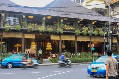 Заведение за хранене в град Кута, Бали