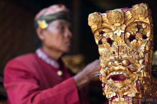 Изпълнител на ударен музикален инструмент - Бали, Индонезия