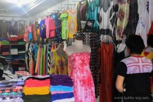 Магазинче за дрехи в Бали