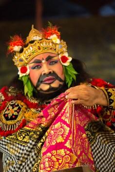 Изпълнител на танца Barong - остров Бали