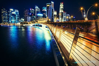 Singapore night -Marina Bay Sands