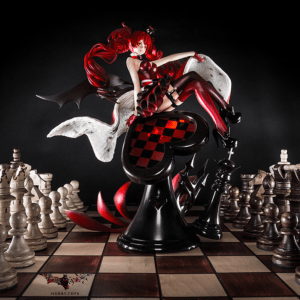 Коллекционная аниме фигурка FairyTale Alice in Wonderland -Another- Queen of Hearts