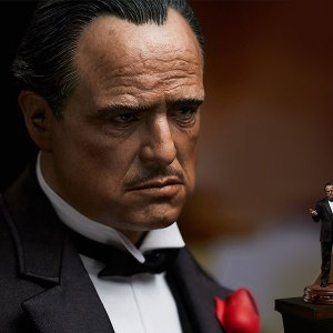 The Godfather Vito Corleone Statue by Blitzway Sideshow Statue