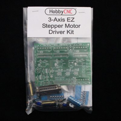 HobbyCNC EZ Stepper Motor Controller board for DIY CNC Router, DIY CNC Mill, DIY CNC Lathe, Homemade CNC, DIY CNC Router electronics, DIY CNC Mill electronics, DIY CNC Lathe electronics