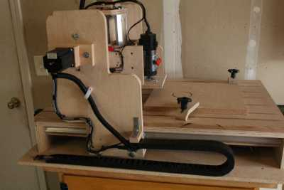 HobbyCNC DIY CNC Customer Build - Dennis B_5