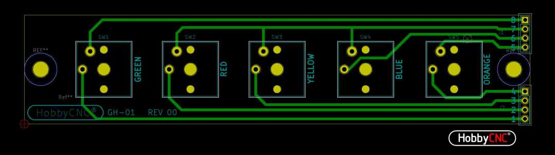 Guitar Hero Fret Switch Upgrade - HobbyCNC