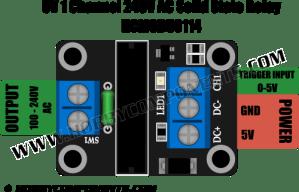 5V 1 Channel 240V AC Solid State Relay (HCMODU0114