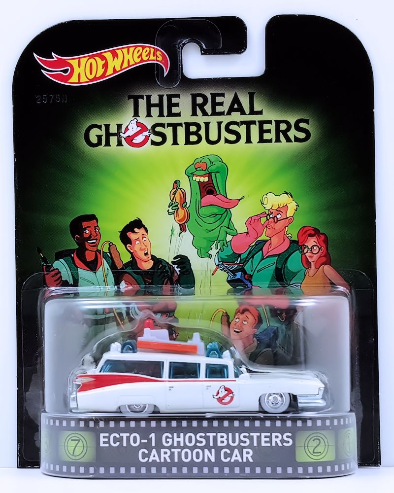 Ecto 1 Ghostbusters Cartoon Car Model Cars HobbyDB