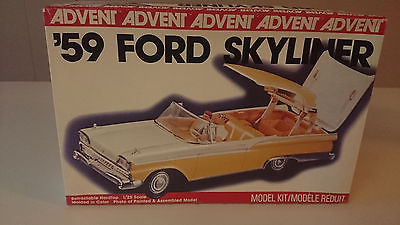 1959 Ford Galaxie Skyliner Retractable Hardtop Model Car Kits HobbyDB