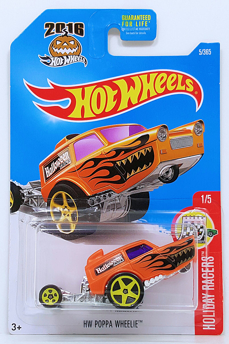 HW Poppa Wheelie Model Cars HobbyDB