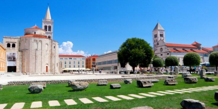 Forum Zadar & St. Donatus Kirche