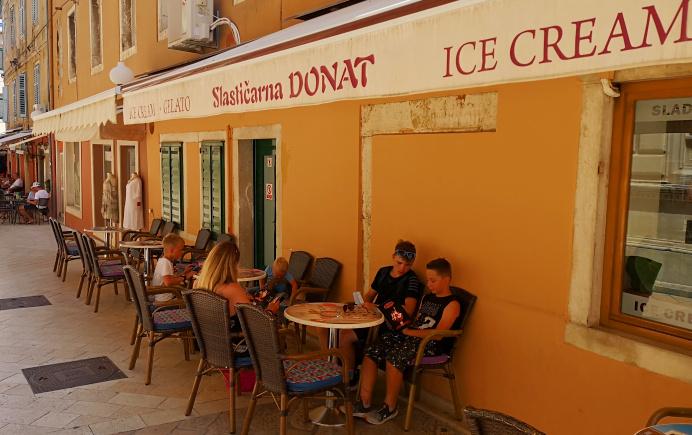Eisdiele Donat Zadar