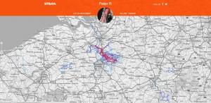 heatmap Belgie