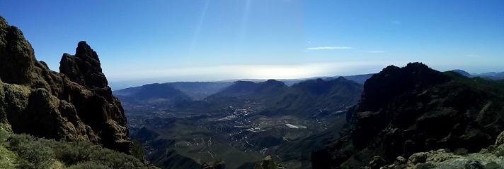 zicht vanop Pico de las Nieves